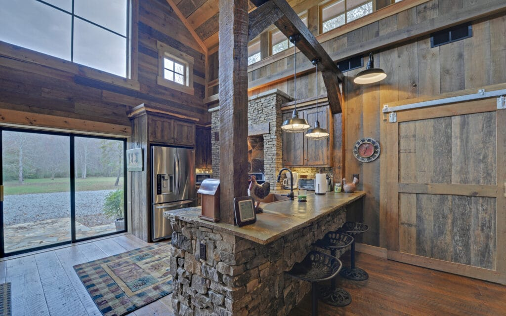 luxury custom home builder in blue ridge ga