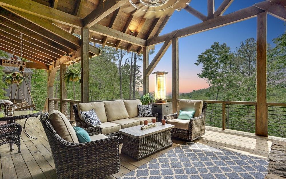 luxury custom home builder in blue ridge ga